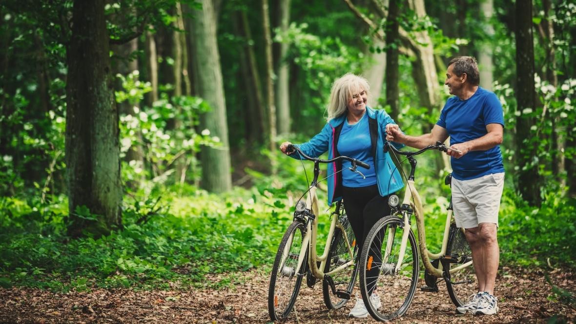 Wandelen en fietsen in de omgeving